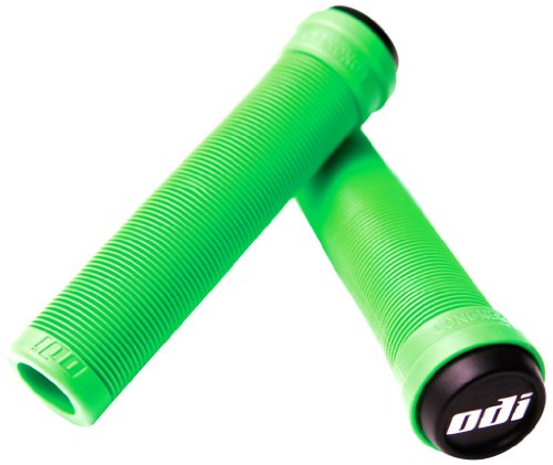 ODI, Impugnature Griffe BMX Longneck SL Flangeless, Verde (Lime Green), 143mm