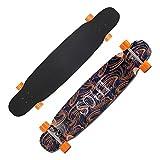 YXB Junior Skateboard, Outdoor Long Cruiser, Extreme Sports Longboard H1/19