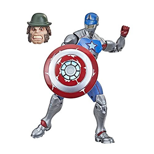SHANG CHI Figura de acción Coleccionable de Civil Warrior de 15cm de Hasbro Marvel Legends Series, a Partir de 4 años con Escudo (F0250)