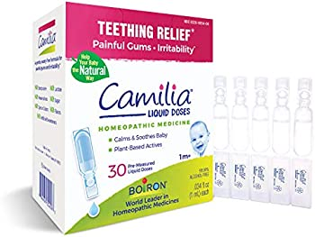 30-Count Boiron Camilia Homeopathic Medicine for Teething Relief
