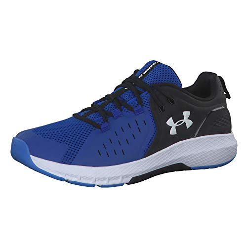 Under Armour Men's Charged Commit 2.0 Cross Trainer, Versa Blue (402)/Black, 11