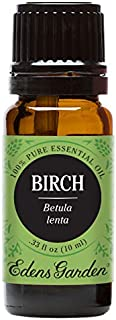 Edens Garden Birch Essential Oil, 100% Pure Therapeutic Grade (Highest Quality Aromatherapy Oils- Massage & Pain), 10 ml