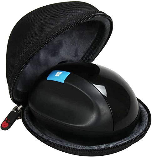Hermitshell Travel Case Fits Microsoft Sculpt Ergonomic Mouse (L6V-00001)