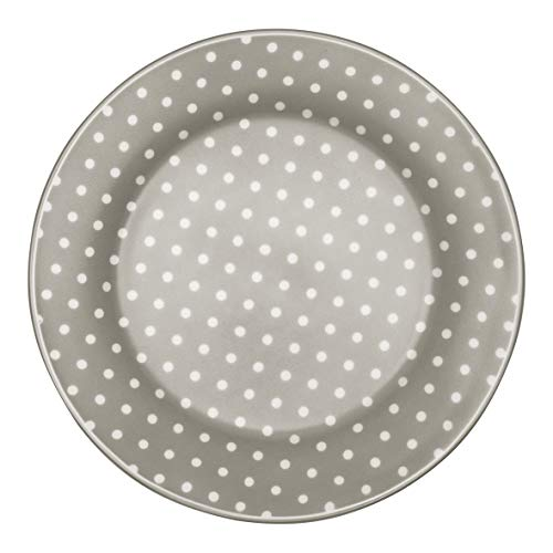 GreenGate Plate Spot Grey