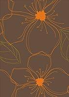 igsticker ポスター ウォールステッカー シール式ステッカー 飾り 841×1189㎜ A0 写真 フォト 壁 インテリア おしゃれ 剥がせる wall sticker poster 000699 フラワー 花 オレンジ