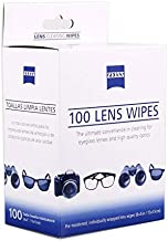 Zeiss Pre-Moistened Lens Cleaning Wipes. for Eyeglasses and Sunglasses (100 Count)