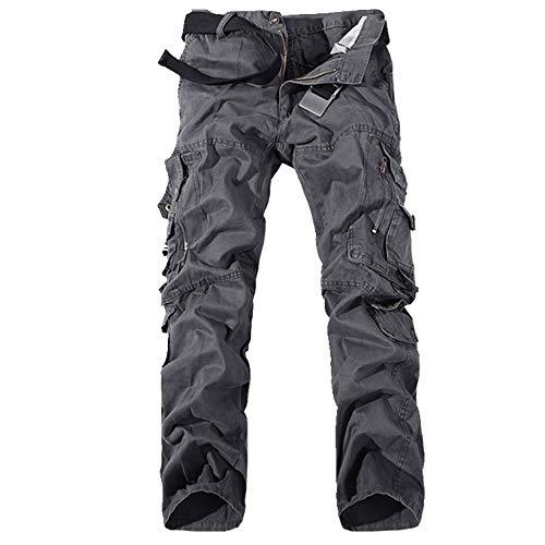N\P Los hombres Pantalones De Carga De Diseñador Multibolsillo Más El Tamaño De Algodón Casual Herramientas Pantalones De Los Hombres En General