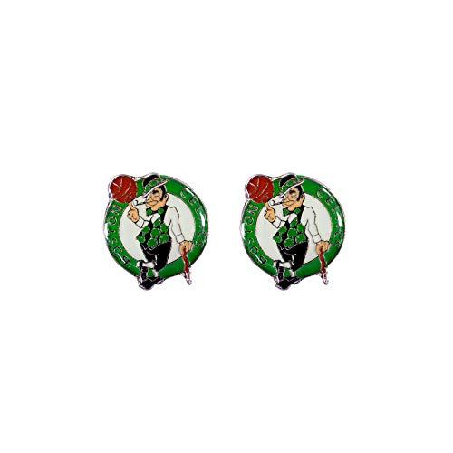 Aminco NBA Boston Celtics Logo Post Earrings