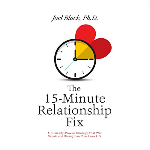 The 15-Minute Relationship Fix audiobook cover art