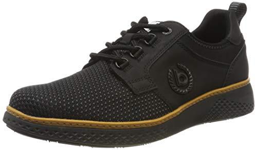 bugatti Herren 322763016900 Sneaker, Schwarz, 44 EU