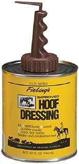 Fiebing's Improved Hoof Dressing Oil Conditioner for Horses Split Hooves, Corns, and Cracks