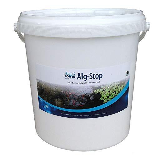 AquaForte Alg-Stop Anti-Fadenalgenmittel 5 Kg Pulver Algenvernichter Algen Weg klares Wasser Faden Algen Teich Filter Fischteich