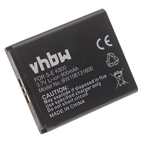 vhbw Akku passend für Sony-Ericsson Z530i, Z610i, Z800, Z800i, Xperia Pureness Handy Smartphone Handy ersetzt BST-33 (Li-Ion, 900mAh, 3.7V)
