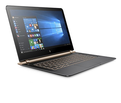 HP Spectre 13 -v105na 2.70GHz i7-7500U Intel Core i7 di settima generazione 13.3' 1920 x 1080Pixel Nero, Rame Computer portatile