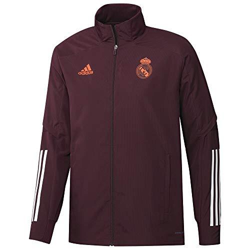 adidas Real Madrid, Giacca Uomo, Granata, M
