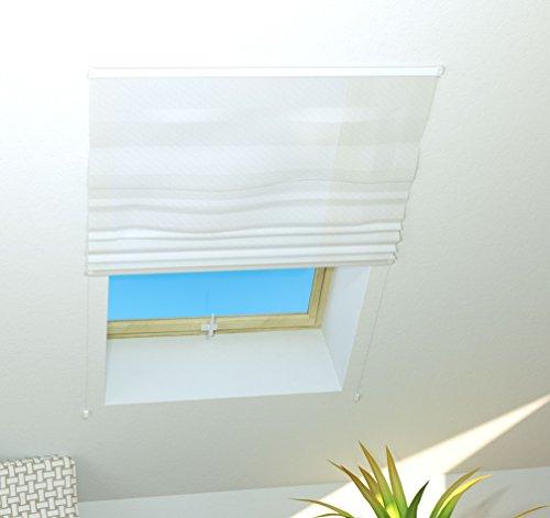 Culex 101400201-VH Dachfenster Insektenschutz BASIC 110x160cm weiss kürzbar