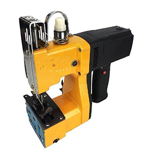 BAOSHISHAN Máquina de coser de mano portátil Herramienta de sellado Bolsa tejida Equipo de embalaje eléctrico Bolsa manual Costura Costura Bolsa más cerca Bolsa de arroz Sellador de bolsas 220V
