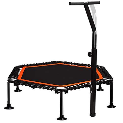 CZLWZZD Trampoline de Fitness,45 inches, poignée en forme T réglable en hauteur, Indoor Sports Trampoline for Home Use,charge maximale 240kg