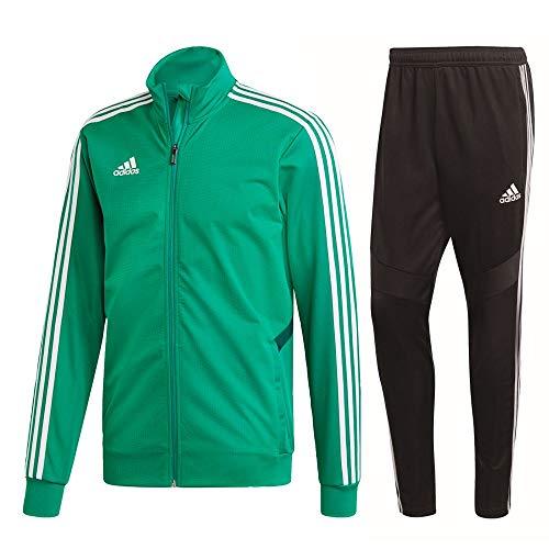 adidas Tiro 19 Trainingsanzug Herren grün schwarz Gr XXXL