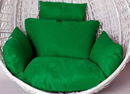 Confortevole Altalena da Cuscino Hammock cuscini for sedie, imbottita 100% cotone, Hanging rilievi della sede del rattan Sedile imbottitura Weave uovo