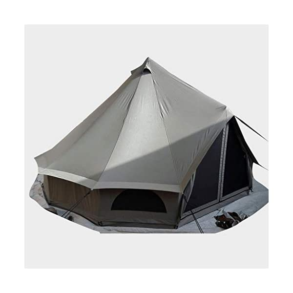 Quest 5-Metre 4 Person Bell Tent 4