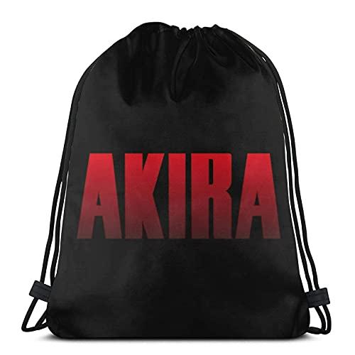 Lmtt Bolsas de cuerdas para el gimnasio Logotipo de Akira Mochilas Casual...