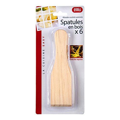 Easy Make CMKU6166 Spatola, Wood, Beige, 15 x 4 x 0,40 cm