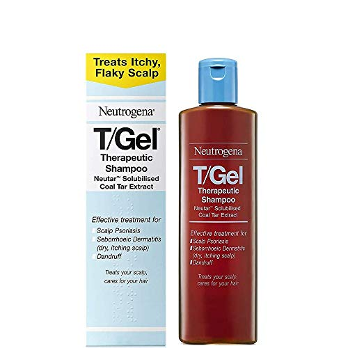 Neutrogena T/Gel Therapeutic Shampoo Treatment for Scalp Psoriasis, Itching...
