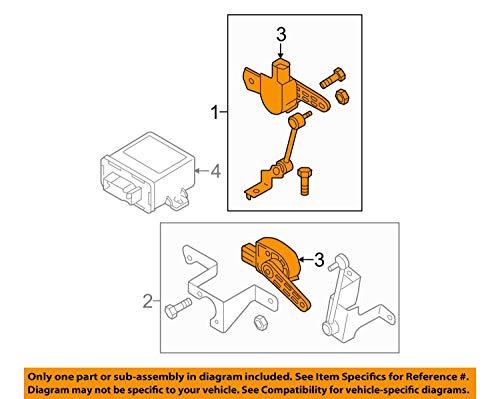Originele Volkswagen Audi Seat Skoda Niveausensor LWR Xenon koplamp