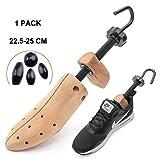 JHKGY - Estirador de zapatos para zapatos, ajustable, longitud y anchura ajustables para hombres y mujeres, estirar zapatos unisex -1 paquete, Medium