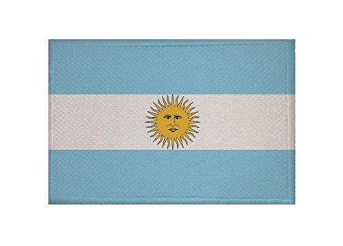 U24 Aufnäher Argentinien Fahne Flagge Aufbügler Patch 9 x 6 cm