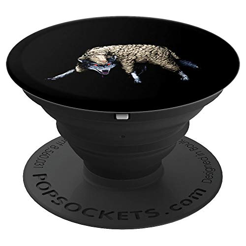 Wolf In Sheep's Clothing - Fierce Predator Hunter PopSockets Grip and Stand for Phones and Tablets