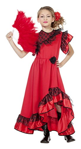 Wilbers Spanien Kinder Kostüm Spanierin Flamenco Karneval Fasching Gr.164