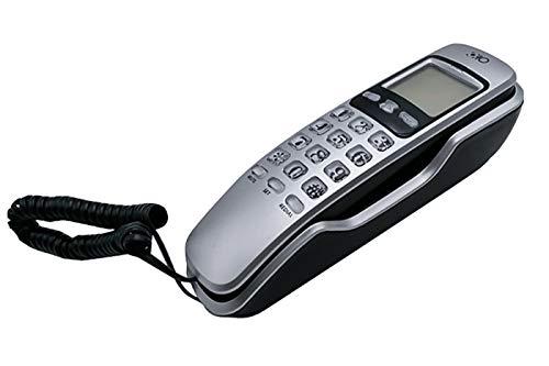 Telefono fisso da parete e tavolo 38 memorie filo tastiera numerica OHO-307CID