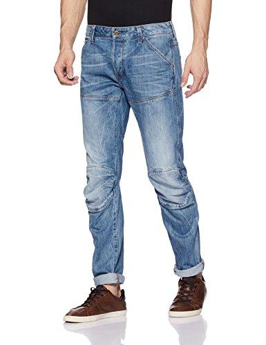 G-STAR RAW Herren 5620 3D Jeans, Blau (Medium Aged), 33/34