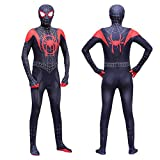 Disfraz de Spiderman de Woljw para adultos, estilo 3D, M (160)