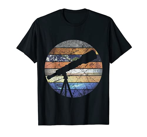 All Planets Solar System Telescope Astronomy T-Shirt