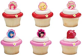 Strawberry Shortcake Friends Forever Cupcake Rings - 24 pc