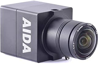 AIDA UHD-100 Micro 4K Ultra HD HDMI 1.4 Professional EFP/POV Camera with 3.6mm Lens, 29.97fps
