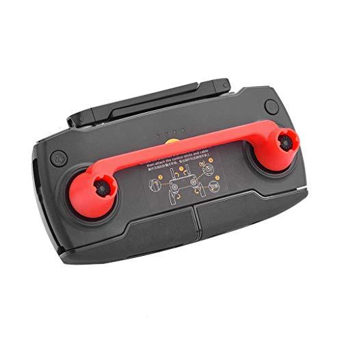 CUEYU Transport-Clips Kompatibel mit DJI Mavic Mini Drone Fernbedienung,Fernbedienung Schutzabdeckungen für den Steuerknüppel für DJI Mavic Mini Drone (Rot)