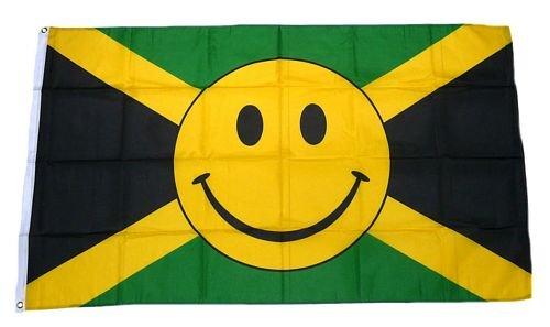 Flagge/Fahne Jamaika Smile 90 x 150 cm
