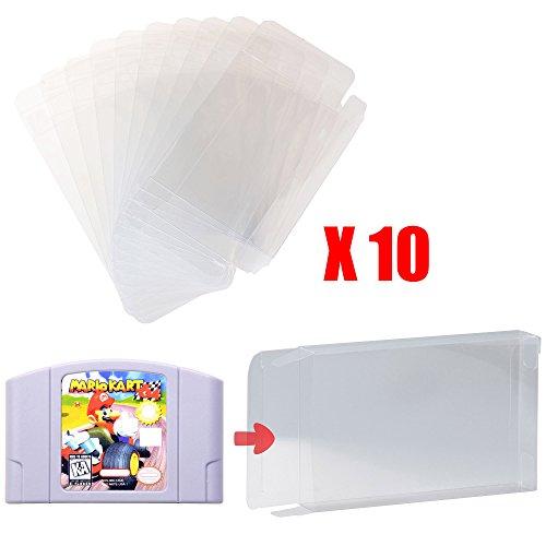 Mcbazel Schutzhülle für Nintendo N64 Games, transparent, 10 Stück