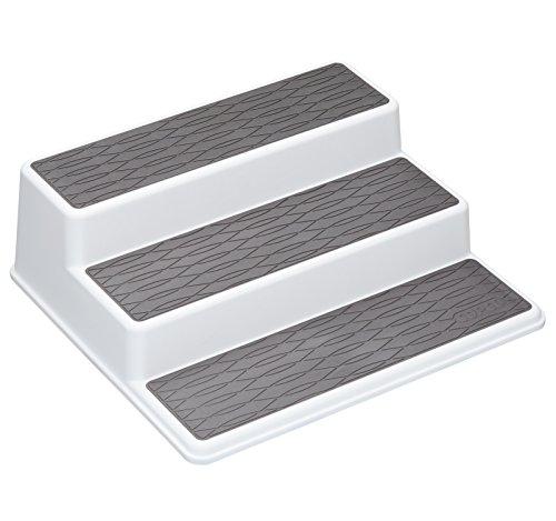 Copco Organizador de Armario, Blanco/Gris, 26 x 23 x 8.5 cm
