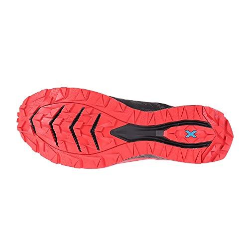 LA SPORTIVA Karacal, Zapatillas de Trail Running Hombre, Black/Goji, 47 EU