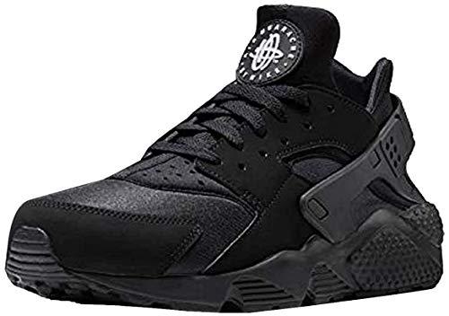 Nike Herren AIR Huarache Sneaker, Schwarz Black White Black 003, 40.5 EU