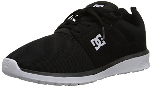 DC Heathrow Skate Shoe, Black/White, 10.5 M US