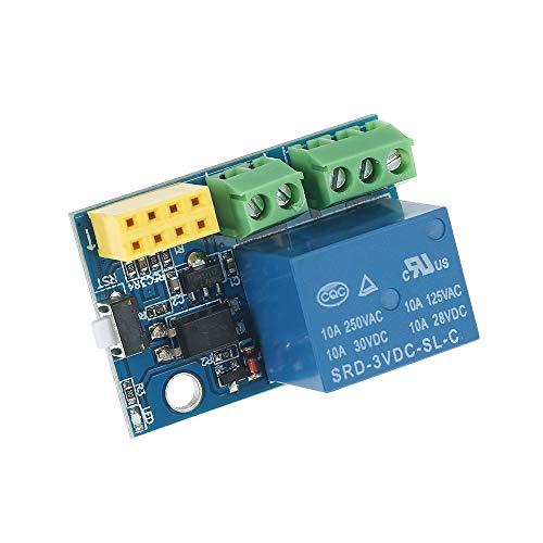 Tablero de relé Interruptor ajustable DC 5V retardo Módulo de relé de retardo del temporizador de control Junta con el teléfono móvil aplicación de control remoto interruptor de control Para control d