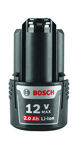 Bosch BAT414 12-Volt Max Lithium-Ion 2.0Ah High Capacity Battery , Black