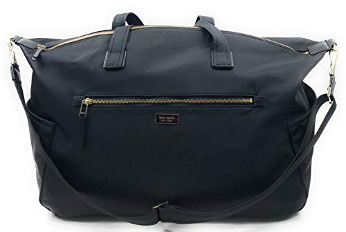 Kate Spade New York Travel Duffel Bag Dawn Weekender Nylon (Black)