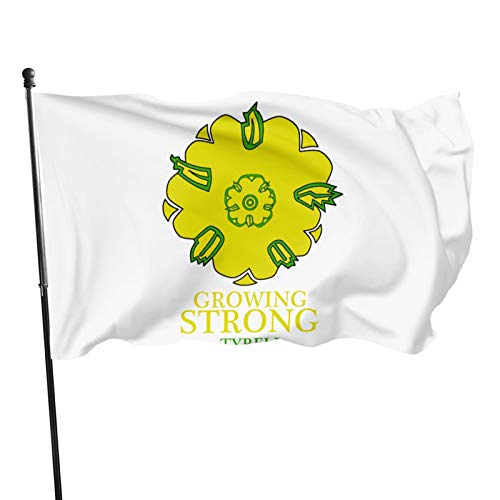 Bingbing Tyrell Corporation 3 X 5 Ft Polyester Printed Flag Double Stitched Fade Resistant Vivid Color Banner Decorations for Indoors and Outdoors 3x5 Feet